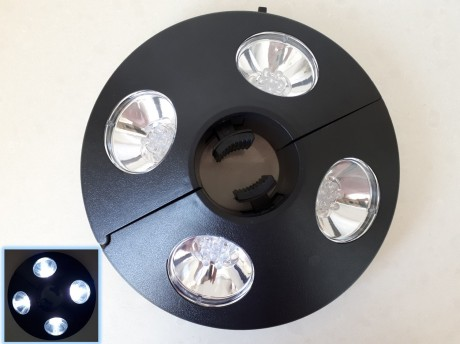 תאורה לשמשיה לקמפינג טיולים תערוכות ודוכנים הפעלה סוללות