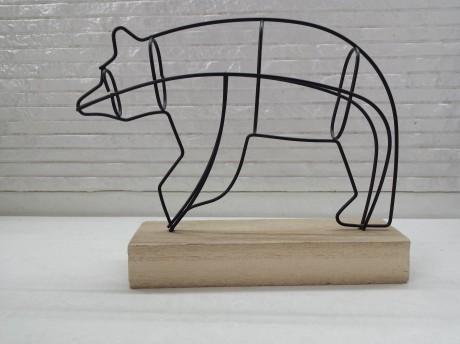 מוצר נוי דגם דובי לעיצוב הבית